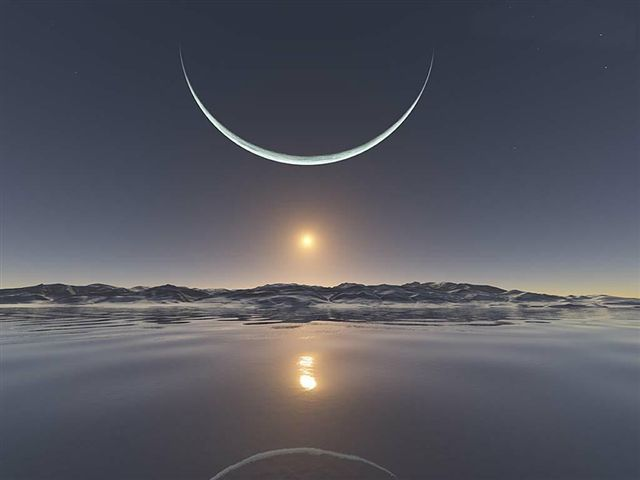 0000sun-moon-northpole