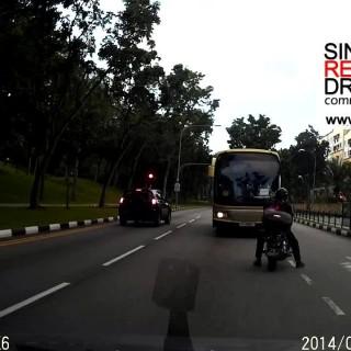 pemandu bas mabuk