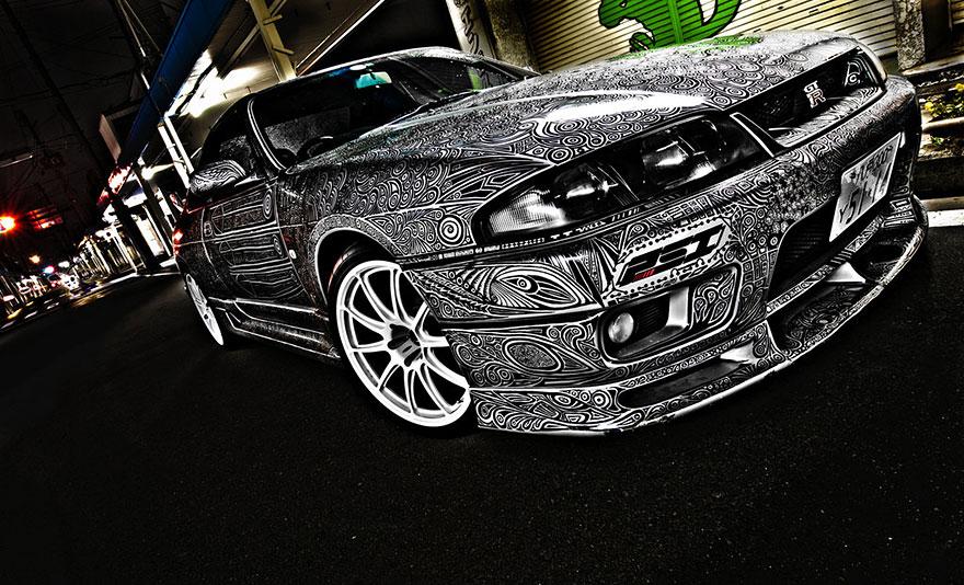 GTR Skyline 10
