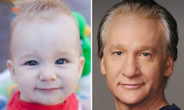 baby-clebrities-lookalike-bill-maher