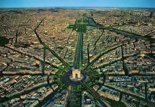 30 Gambar Pemandangan Menarik Dari Udara Dari Bandar-Bandar Di Seluruh Dunia - My Media Hub 14