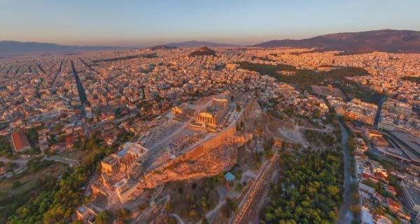 30 Gambar Pemandangan Menarik Dari Udara Dari Bandar-Bandar Di Seluruh Dunia - My Media Hub 19