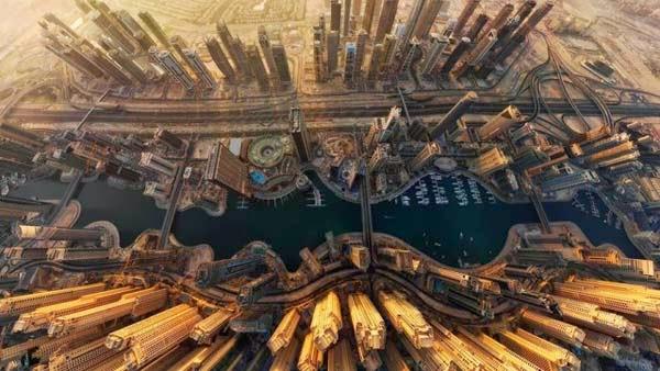 30 Gambar Pemandangan Menarik Dari Udara Dari Bandar-Bandar Di Seluruh Dunia - My Media Hub 25