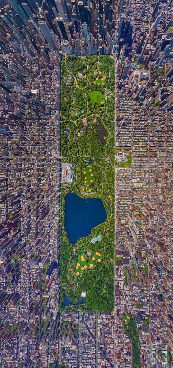 30 Gambar Pemandangan Menarik Dari Udara Dari Bandar-Bandar Di Seluruh Dunia - My Media Hub 3