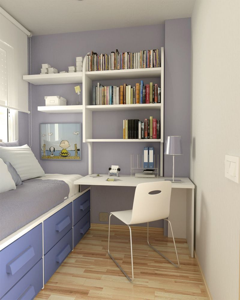 Single-bedroom-interiors-with-modern-desk-and-chair