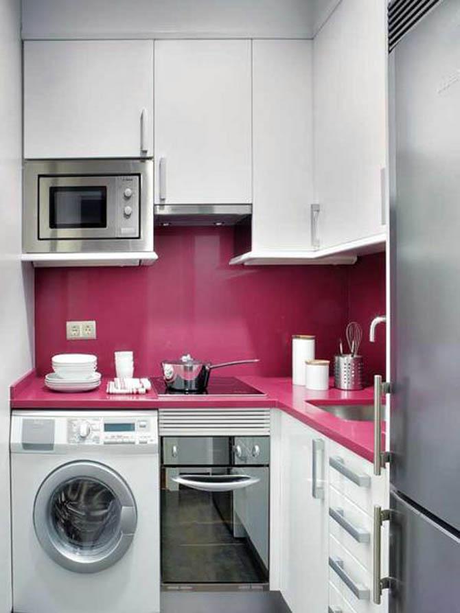 Idea Dekorasi Dapur Kecil 13