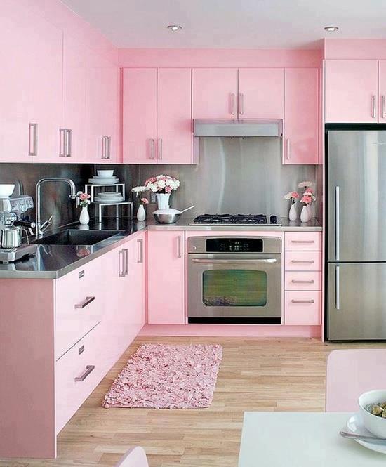 Idea Dekorasi Dapur Kecil 15
