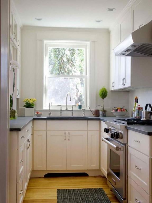 Idea Dekorasi Dapur Kecil 29