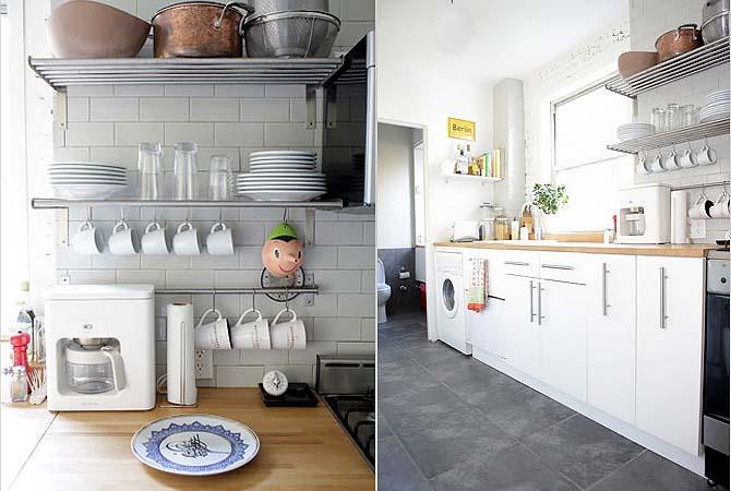 Idea Dekorasi Dapur Kecil 34