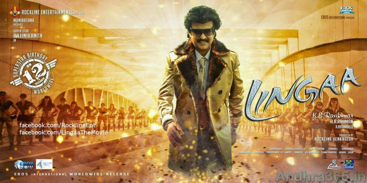 Lingaa Release date Posters (1)@Andhra365
