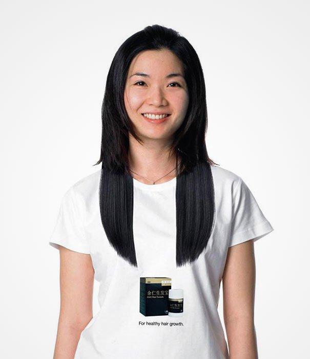 long hair illusion