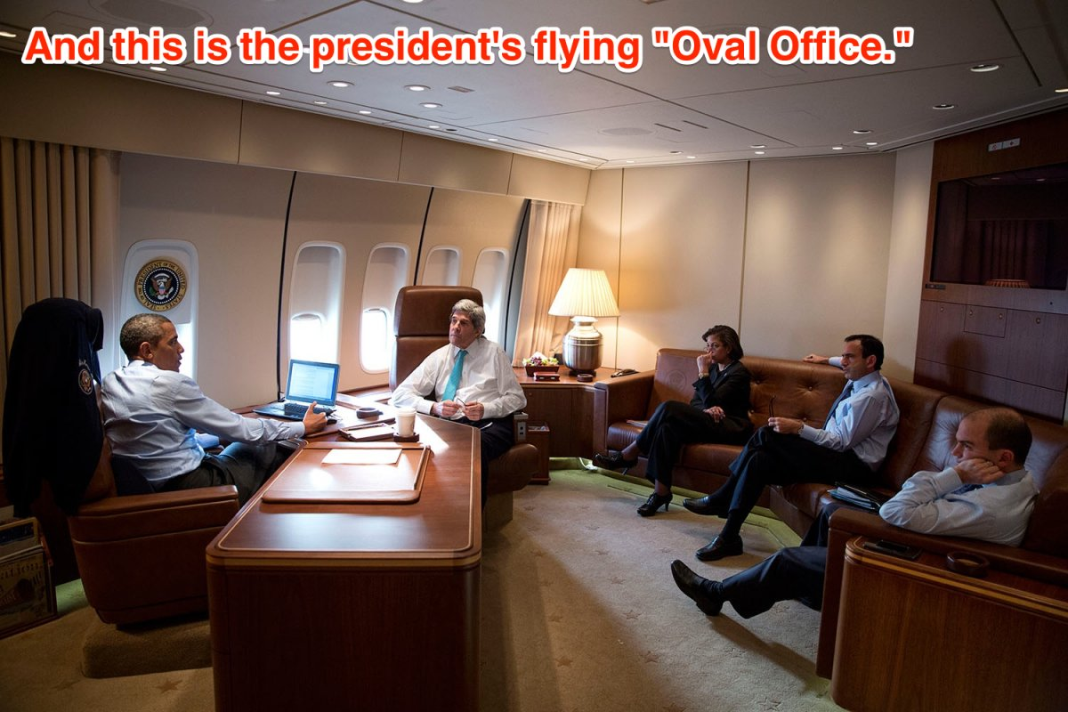 12 flying oval office