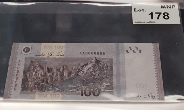 Harga duit kertas lama rm 2 2019