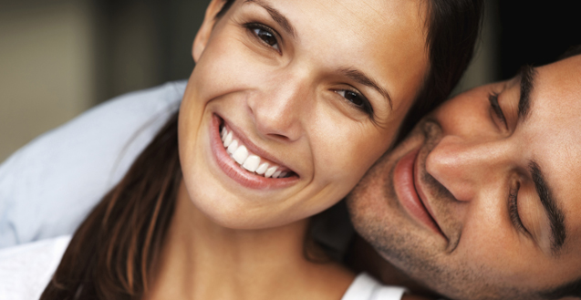 Woman-Smiling-With-Man