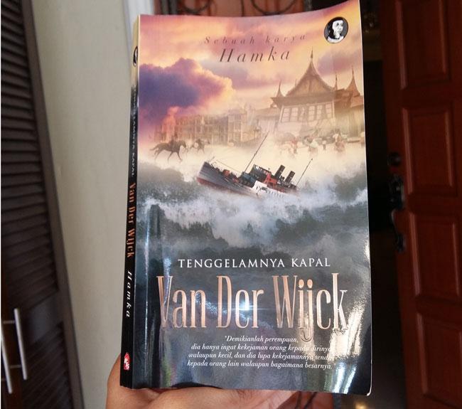 Saya Baru Habis Baca Novel 'Tenggelamnya Kapal Van Der Wijck
