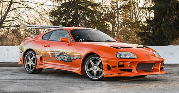 toyota supra paul walker fast furious brian o conner