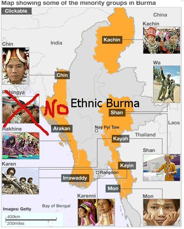 Map Etnik Myanmar
