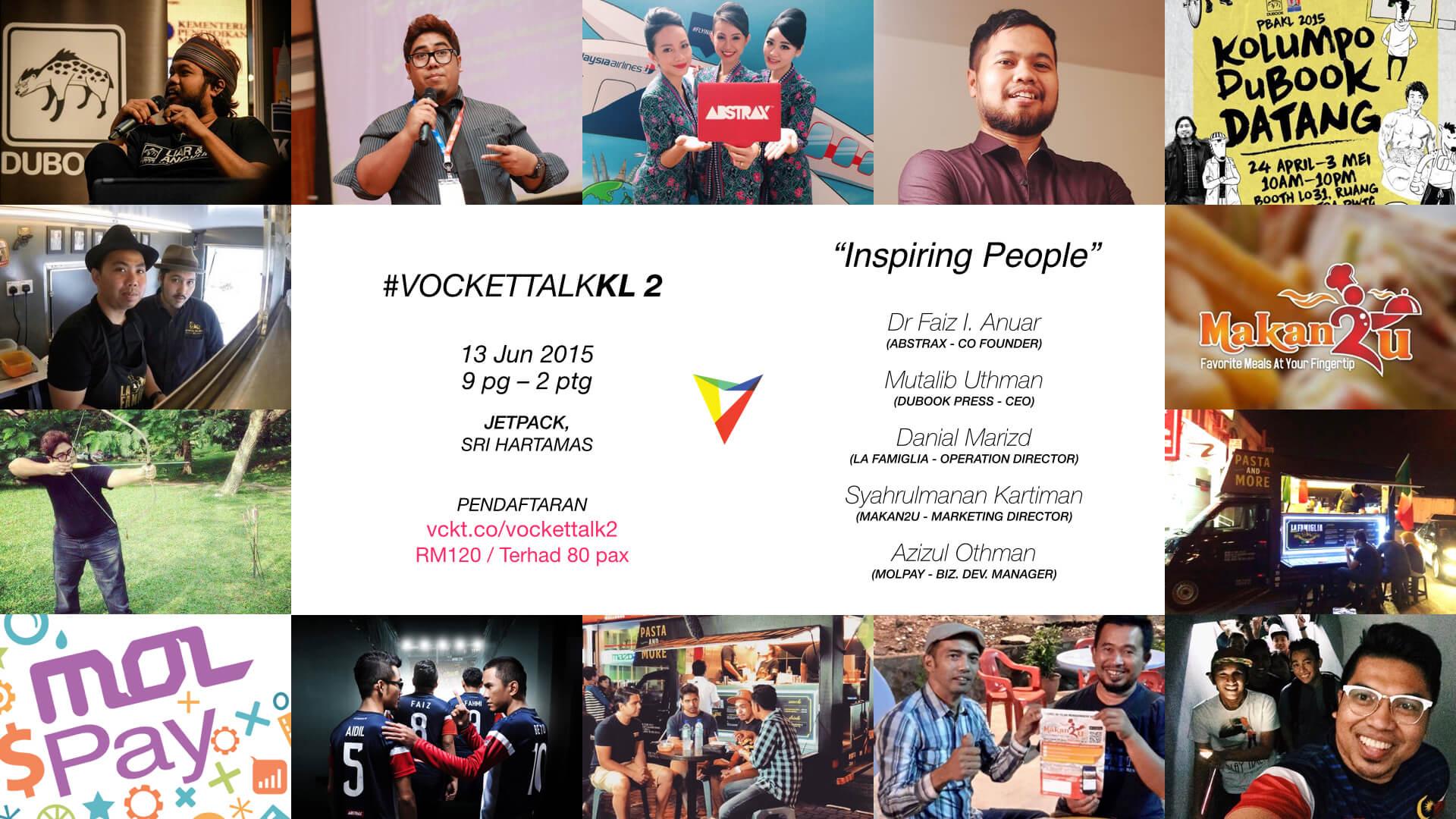 Vocket Talk Poster 2015