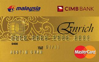 cimb enrich gold mastercard