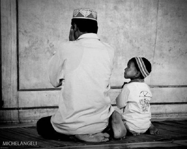 bapa dan anak