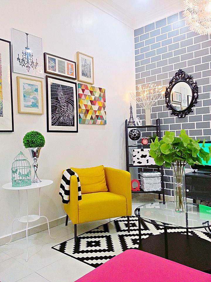 Deko Ruang Tamu Simple Ikea