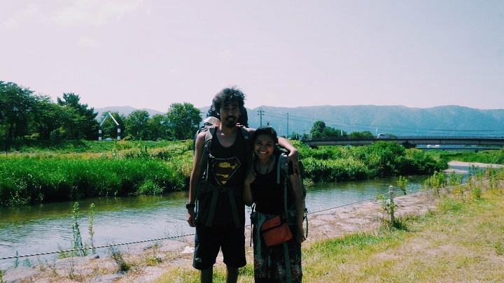 PASANGAN LEGAM DI CAMP GROUND LAKE BIWA