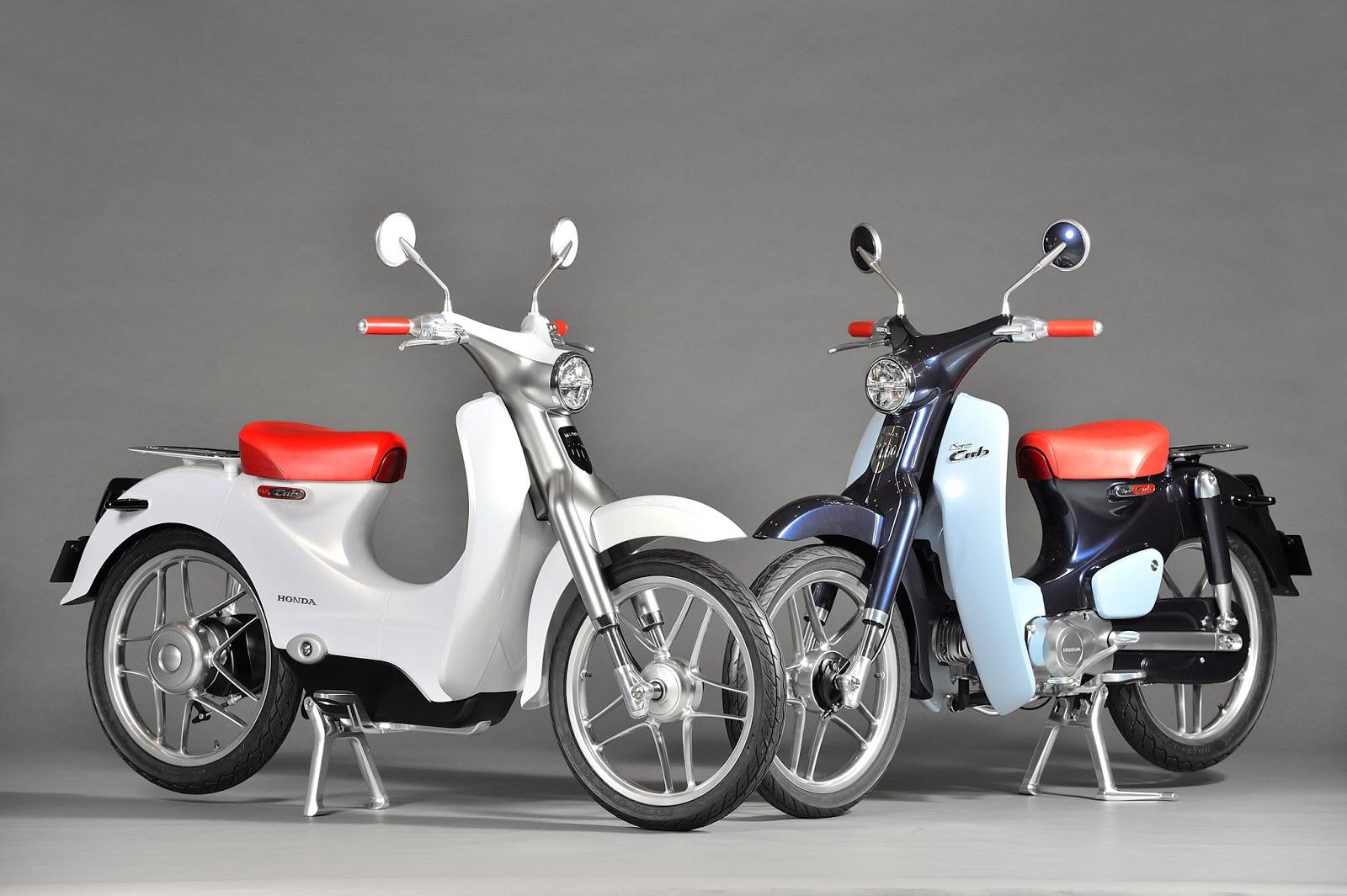 Honda Super Cub Concept & EV-Cub Concept 2015 01