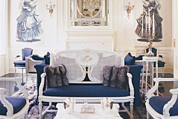 "Gambar: ""American Fashion Designers at Home""/Assouline"