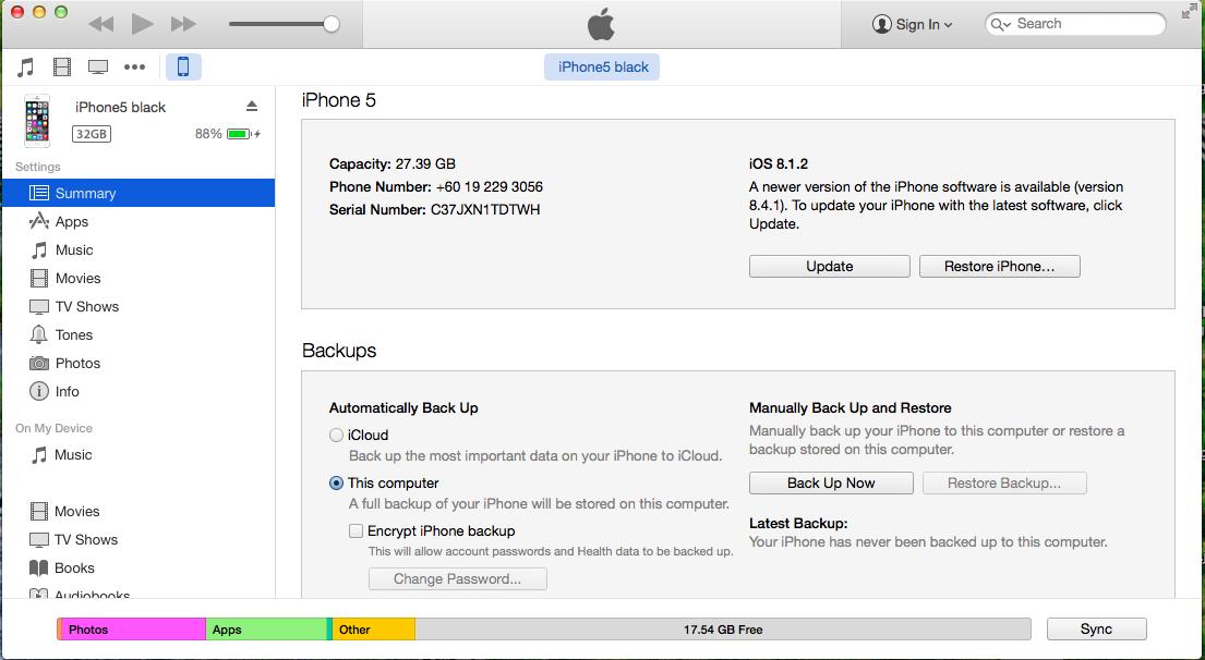Apple iOS 04