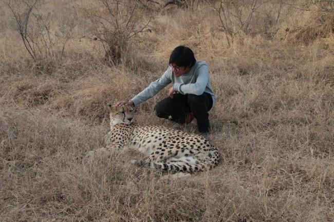 Ketika di hutan belantara Afrika Selatan