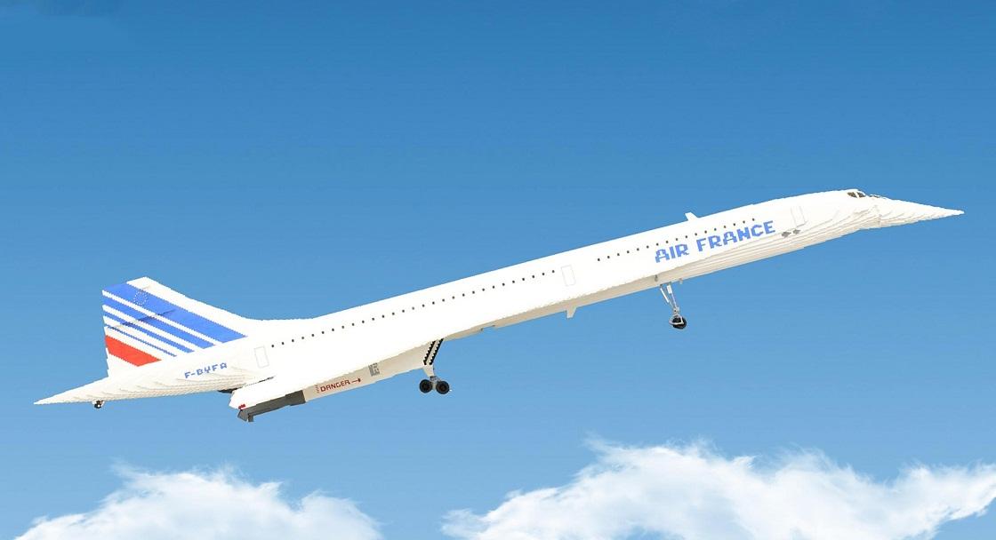LEGO-concorde-plane-1