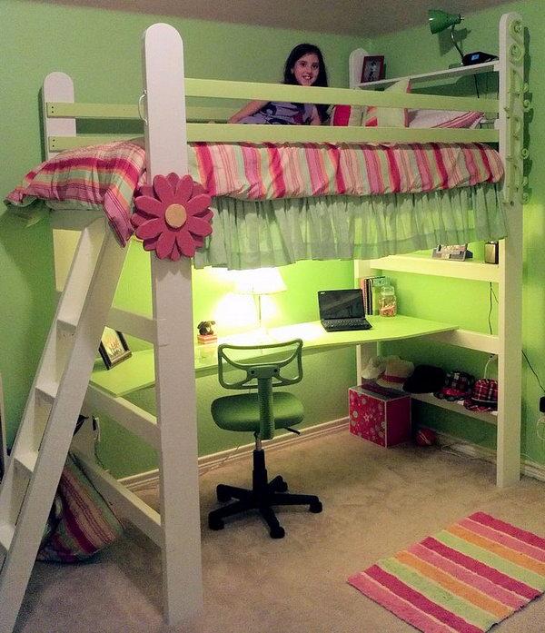 30 Idea Bilik Kecil Guna Katil Loft Untuk Tampil Luas Dan Menarik