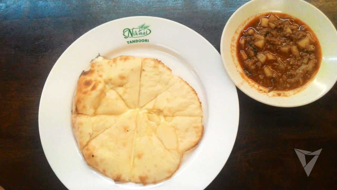 Mozarella cheese naan berharga RM6.00 ini memang terbaik