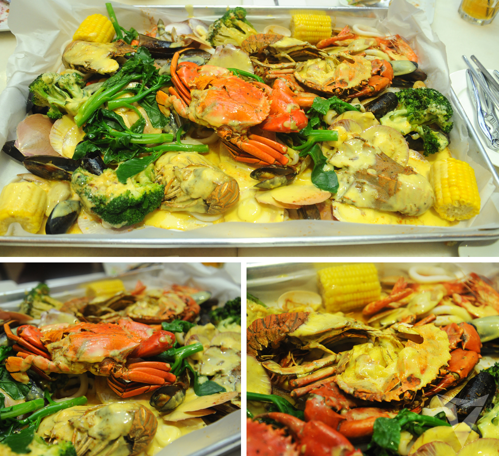 set menu seafood lambak bernilai rm225