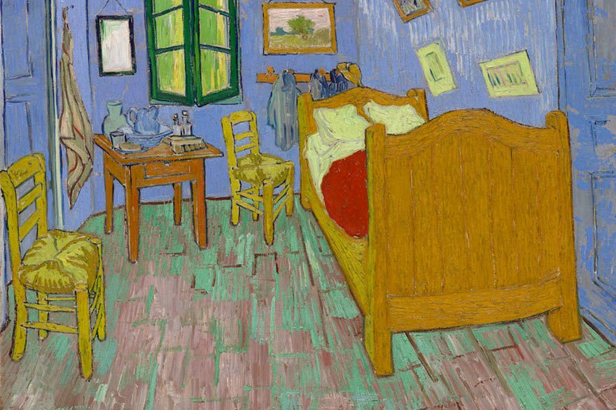 Lukisan asal 'The Bedroom'