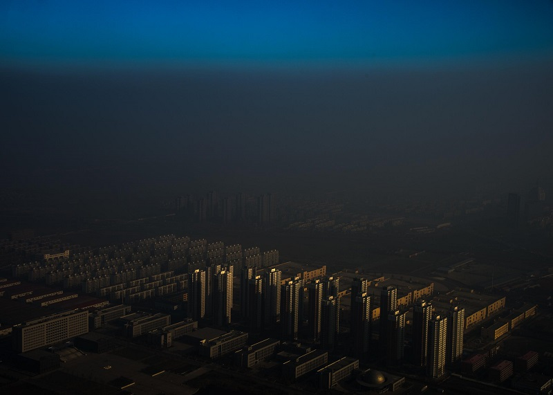 'Haze In China' - Zhang Lei