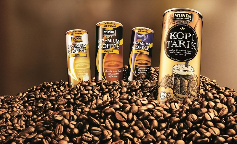 WONDA Coffee pack shots