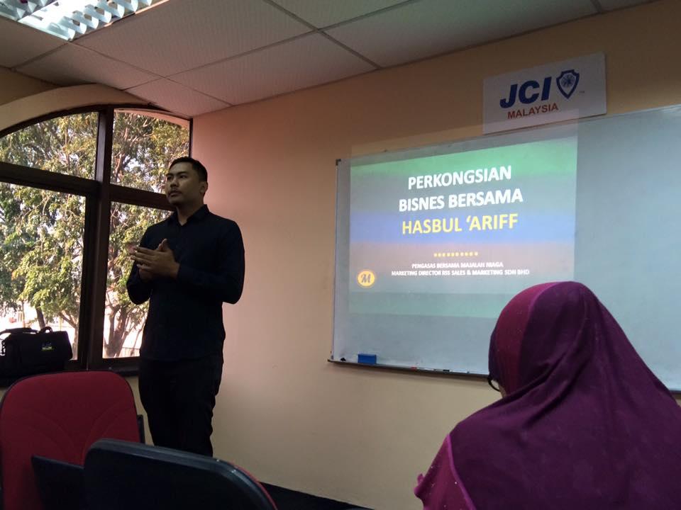 Moderator, Tuan Firdaus Yasin