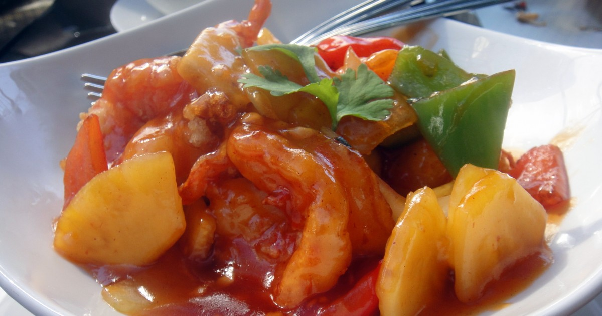 prawn sweet sour 2