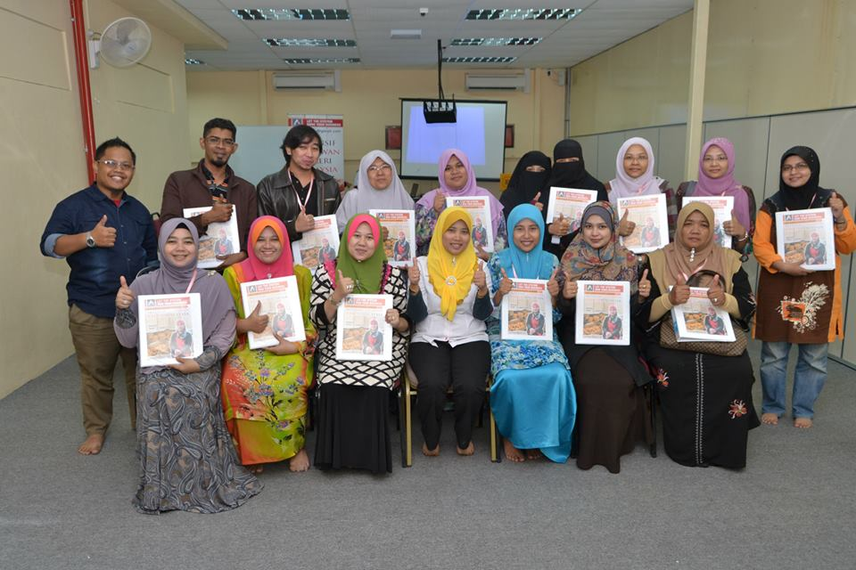 Pada tahun 2014, ketika program Intensif Usahawan bakeri Malaysia.