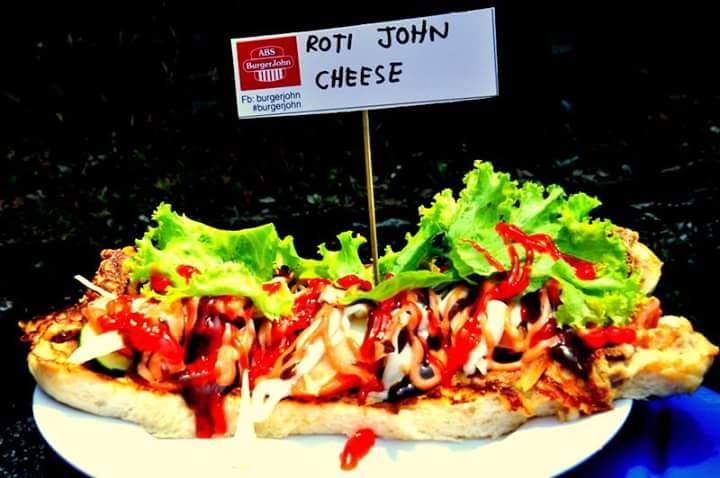 Roti John Cheese Tarik