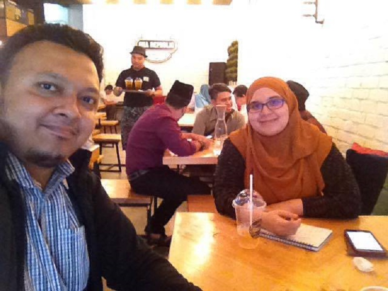Khairul Hakimin dan Fadzilah Mamat