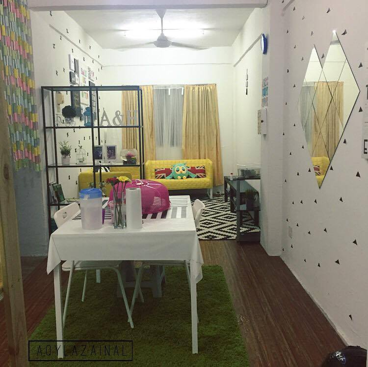 Deko Rumah Flat 7