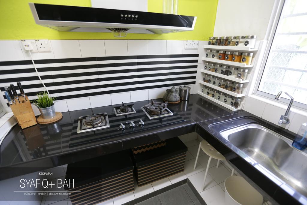 Hiasan Ruang Dapur Basah