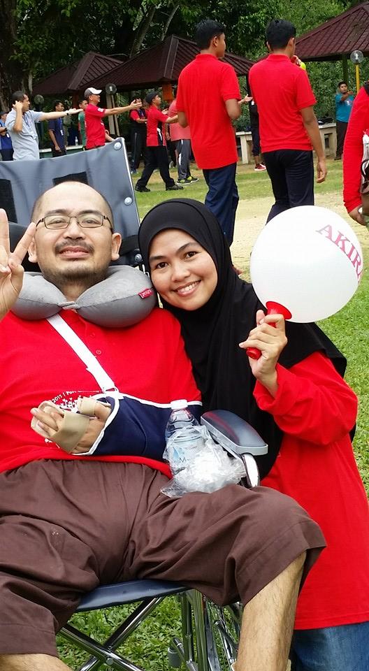 Tuan Idzwan dan Puan Raudzah