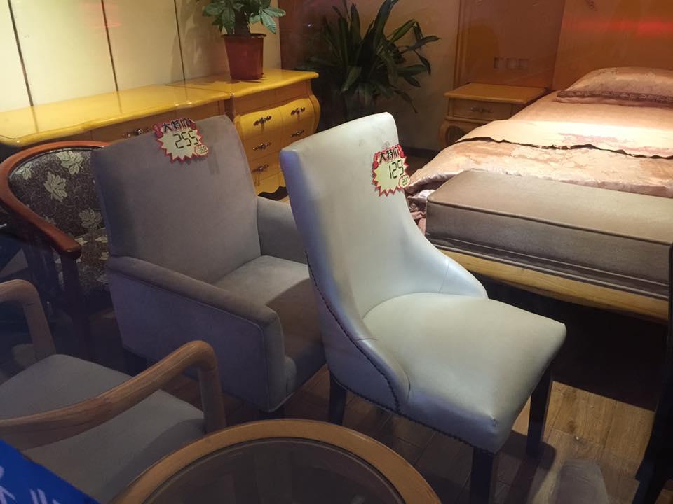 Di Malaysia kerusi ni RM300-400. Sini 129 yuan atau dalam RM70 huhu...