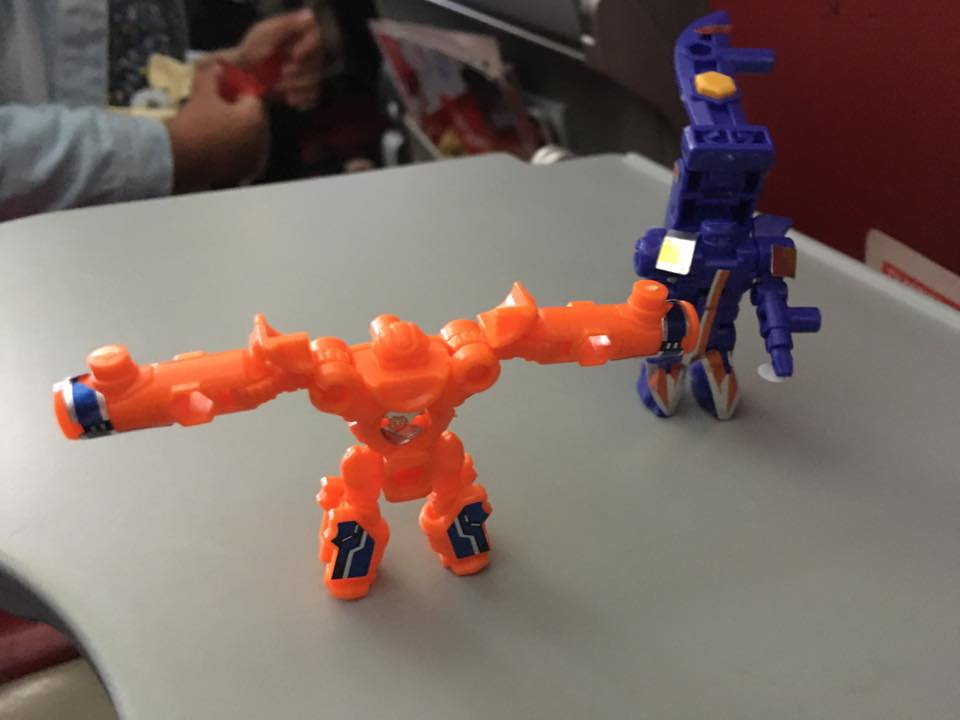 Lego RM2.50 bekal dalam flight untuk anakanda syurga