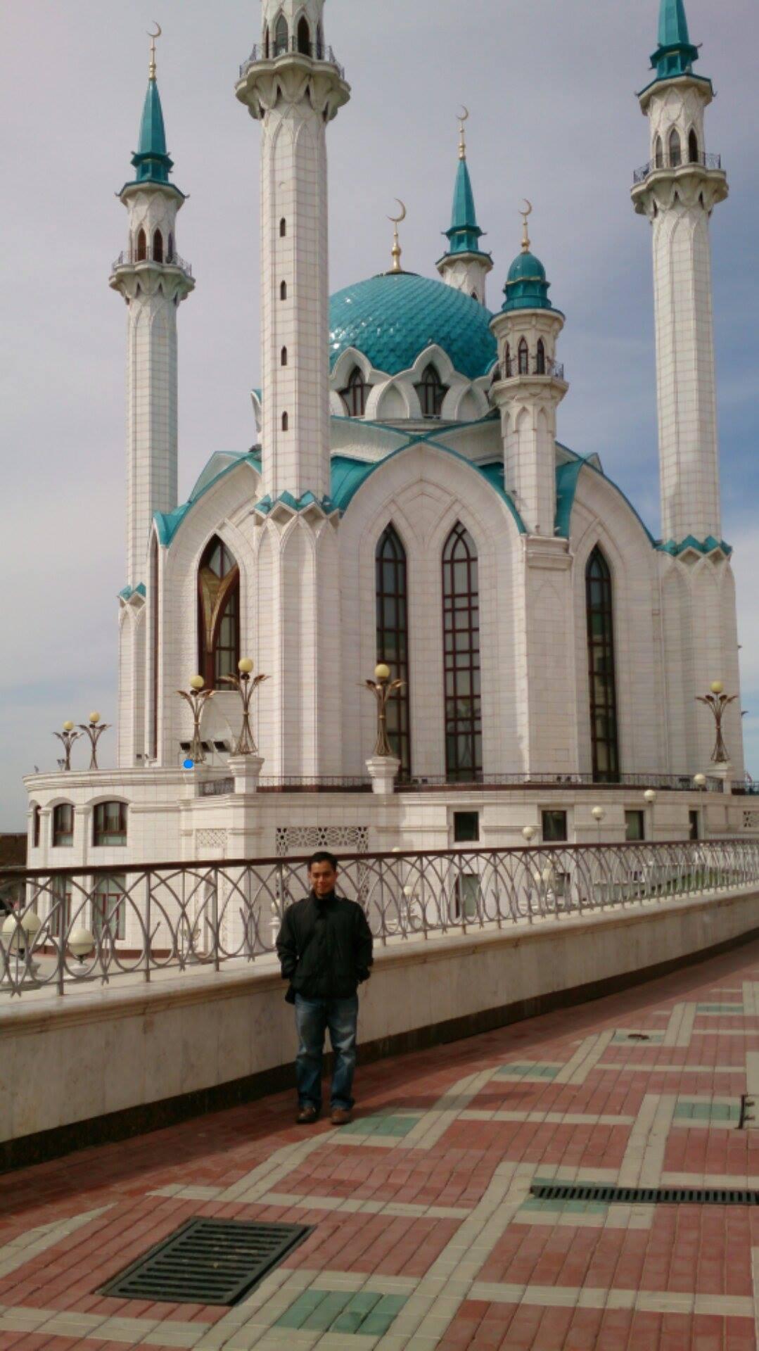 Di masjid kul Sharif, Kazan Rusia