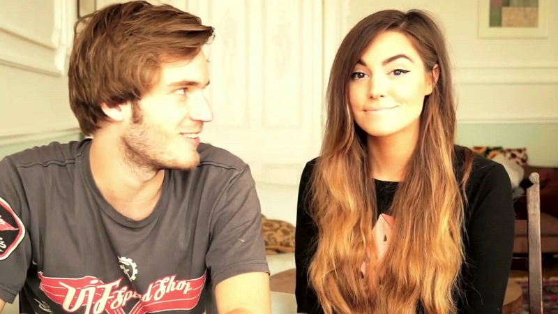 Felix dan teman wanitanya, Marzia