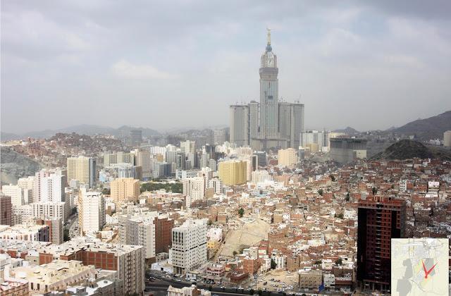 Kota Makkah kini... suatu masa nanti akan menjadi kenangan indah selepas selesai pembangunan semula.